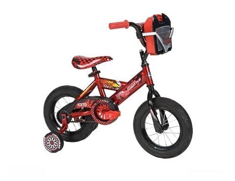 Huffy Boy's Disney Cars Bike, Racing Red/Piston Black, 12-Inch by Huffy