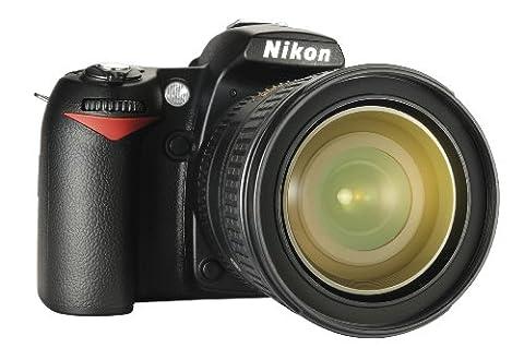 Nikon D90 SLR-Digitalkamera (12 Megapixel, Live-View, HD-Videofunktion) Kit inkl. 16-85mm 1:3,5-5,6G VR Objektiv