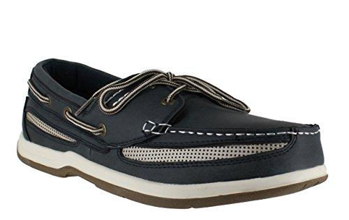 Island Surf  Cod, Chaussures bateau pour homme Marron marron 40 2/3 Bleu - Bleu marine