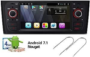Xtrons Autoradio Android Taclite 6 2 Zoll Gps Bluetooth Fiat Grande Punto Linea Auto