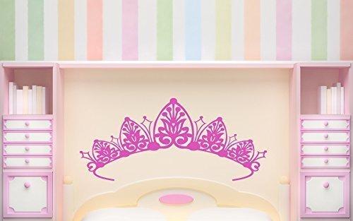 tiare-tete-de-lit-autocollant-mural-chambre-a-coucher-filles-princesse-nurserie-crown-blanc-mat