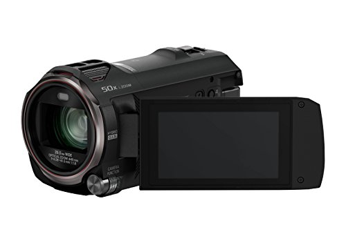 Panasonic HC-V777EG-K Full HD Camcorder ( Full HD Video, 20x opt. Zoom, opt. Bildstabilisator, WiFi, Wireless Twin Camera) schwarz