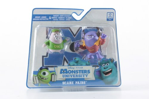 Spin Master Monsters University Scare Pairs - Personaggi Johnny & Squishy