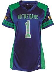 Notre Dame Fighting Irish Women's NCAA Champion Kick Off Fashion Football Jersey Maillot