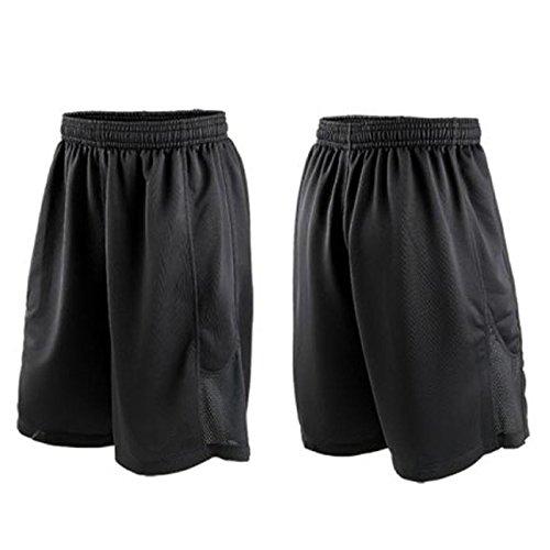 hippolo Herren Shorts Fußball Running Gym Active Sports Wear atmungsaktiv XXXL (Kordelzug Fußball Shorts)