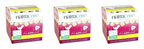 -natracare-ultra-extra-pads-with-wings-normal-12s-super-saver-save-money-by-bodywise-uk-ltd