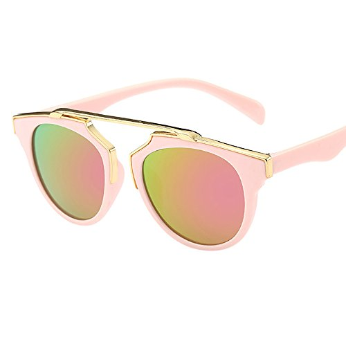 LLonGao Anti-UV Brille Chlidren Kinder Jungen Goggle Baby 7 Farbe Sonnenbrille Mädchen Bogen Neu Verspiegelt Casual Zubehör Augengesundheit Mode Mehrere Farben Brille