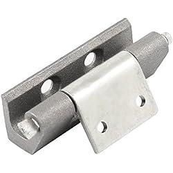 Gris tornillo montaje en aleación de aluminio Bisagra para puerta de una alacena en los costes de electricidad