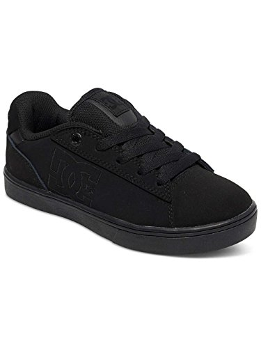 DC Shoes Youths Notch Leather Trainers Black