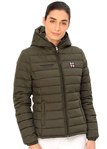 SPOOKS Damen Jacke, leichte Damenjacke mit Kapuze, Herbstjacke - New Kira Jacket Olive s