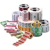 Zebra Z-Select 2000d–Drucker-Etiketten weiß, Rolle, Wärmeübertragung, 1432Stück (S), 101.6x 101.6)