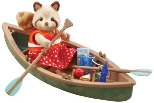 sylvanian-families-martha-mulberry-et-son-canoe-canoe-figure-set-figurine-et-accessoires