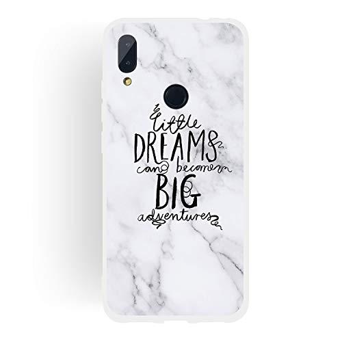 d53fd2e6ea1 CUAgain Cover Compatibile con Xiaomi Redmi Note 7/Note 7 PRO Silicone con  Disegni Motivo