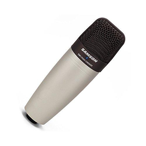 Samson c01 microfono iper-cardioide a diaframma largo con bauletto per trasporto contenimento (omaggio)