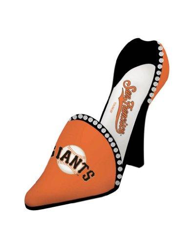 san-francisco-giants-resin-logo-high-heel-shoe-wine-bottle-holder-by-team-sports-america