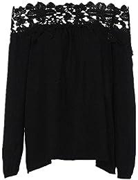 ba zha hei-Mujer Ropa Mujer Camiseta,❤️Ba Zha Hei Rayas Primavera y