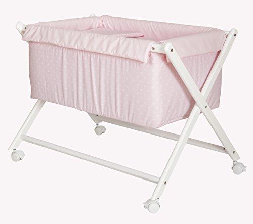 Minicuna Bebé Completa, Colchón Antiahogo