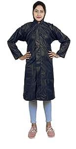 Zacharias _Zach-women-grey-rain-coat-M Zacharias women rain coat (Pack of 1) (Grey_Medium)