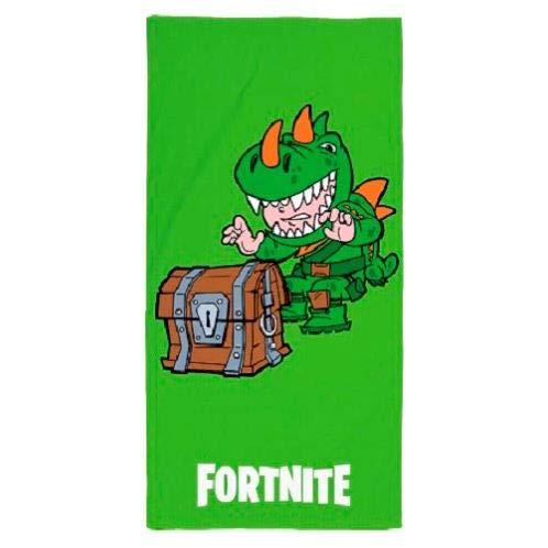 Epic Games Toalla de Playa Dino Fortnite, 70 x 140 cm