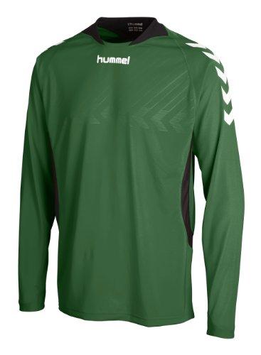 Hummel Trikot Team Player Poly Jersey Longsleeve, evergreen, S, 04-277-6140