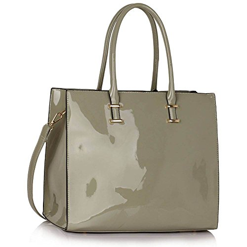 leesun-london-borsa-tote-donna-grigio-grey-patent-tote-bag-l
