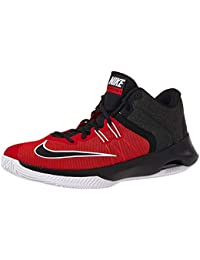 super popular 72838 44ef9 Nike Men s Air Versitile Ii Red Black White Basketball Shoes