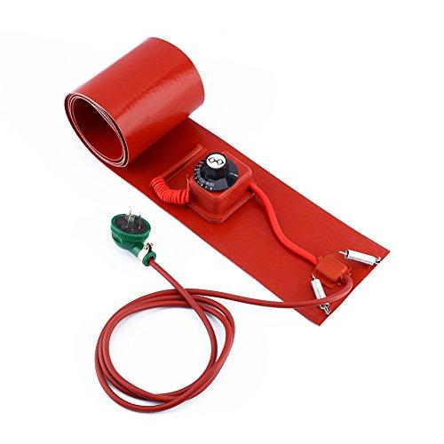 240V / 1000W Ölfassheizung (200L / 55Gallon Silicon Metal Oil Drum Heater) zum Aufheizen von WVO zum Absetzen oder Verarbeiten von Biodiesel.(Die Trommel Nicht enthalten) -