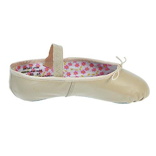 Capezio 205 Daisy Leder Ballettschuh Rosa