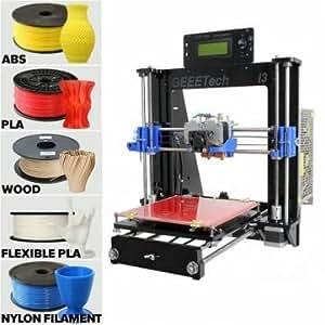 Geeetech bricolage démontées i3 pro c extrudeuse double 3d printer kit support 5 à incandescence