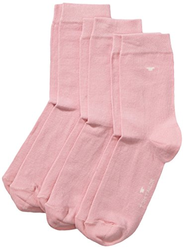 TOM TAILOR, Unisex - Kinder Socke 3 er Pack 9203, Gr. Rosa (lilac rose - 048 ), Gr. 35-38