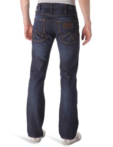 Wrangler - Crank - Jeans - Droit - Homme Dark Clean