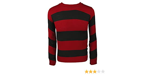 Adults Kids Knitted Jumper Fancy Dress Character Sweaters Casual