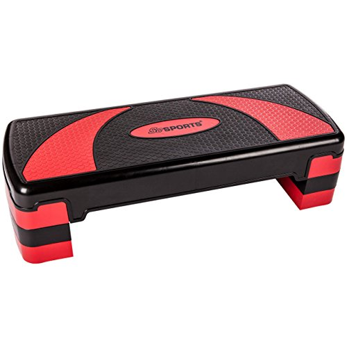 ScSPORTS Stepper AEROBIC STEP LARGE 78 x 30 x 10/15/20 cm, 10000405