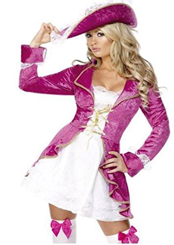 Corsara Kostüm - CARTAL SRL JB Jenny 's Bedroom Fantasy Dress Up Corsara Pink