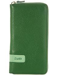 zwei Wallet RV-Geldbörse W2 18, 5 cm, grass