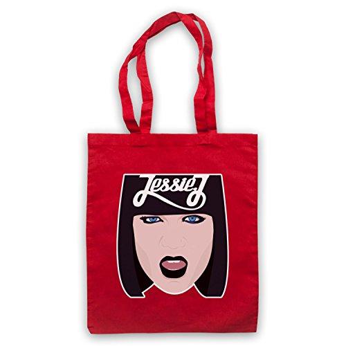 Ispirato A Jessie J Face Illustration Non Ufficiale Del Capo Rosso