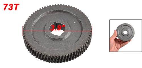 65 Type 22mm Shaft Dia 73-teeth Spiral Bevel Gear Power Tool Part