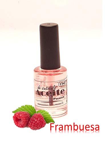 Aceite cuticulas -Aroma FRAMBUESA- 14ml vitaminas