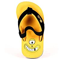 Cool Flip Flop Shoe Kids Monster B Golden Yellow 21/22