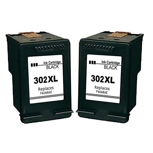 Gmoher Remanufacturado Cartucho Tinta HP 302XL HP