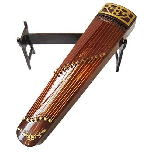 TOOGOO Guzheng Modell Chinesische Traditionelle Zither Musik Instrument Sammlung Dekorative Ornamente Modell Geschenk Mit Fall Stehen