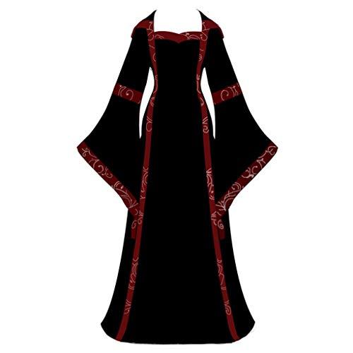 Baby Renaissance Kostüm - Yesmile Damen Mittelalter Kleid Vintage Prinzessin