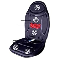 Heated Back and Seat Massager - 6 Features, 5 Massage Motors