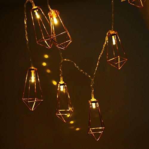 LED Dekoleuchte roségold - 6