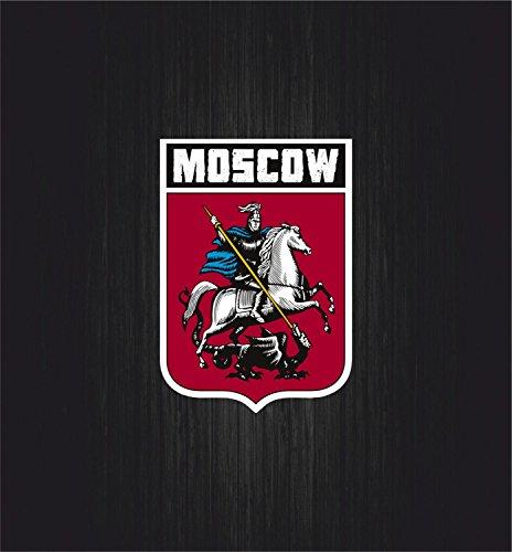 Preisvergleich Produktbild Selbstklebend Sticker Flagge Auto Moto Wappen Moskau moscow Shield