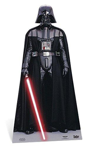 der Pappaufsteller Standy - ca 195 cm (Darth Vader Pappaufsteller)