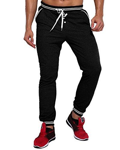 MODCHOK Herren Jogginghose Lange Sport Hose Fitnesshose Cargo Traininghose Pants