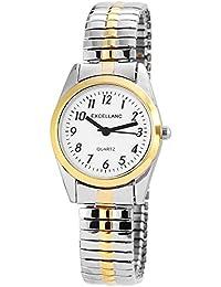 Excellanc Damen-Armbanduhr XS Analog Quarz verschiedene Materialien 170012000015
