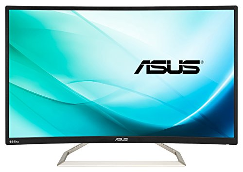 Asus VA326H 80,01 cm (31,5 Zoll) Curved Gaming Monitor (Full HD, VGA, DVI, HDMI, 4ms Reaktionszeit) schwarz