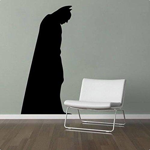 Etiqueta de la pared Batman 3D Ordenanza Papel pintado Niños Habitación Regalo Multicolor Bebé Pelar y pegar pared Pegatina Gotham Guardian 3D Casa Decoración